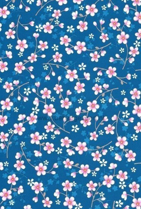 Eijffinger Pip Studio behang 313025 Cherry Blossom Blauw