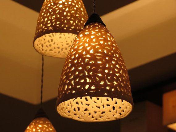 Appareil d'éclairage 20 % OFF-céramique. par rachelnadlerceramics
