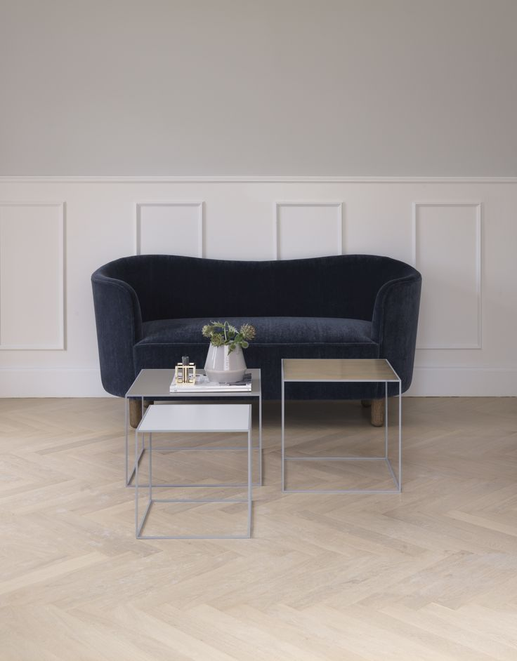 Mingle Sofa and Twin tables from by Lassen