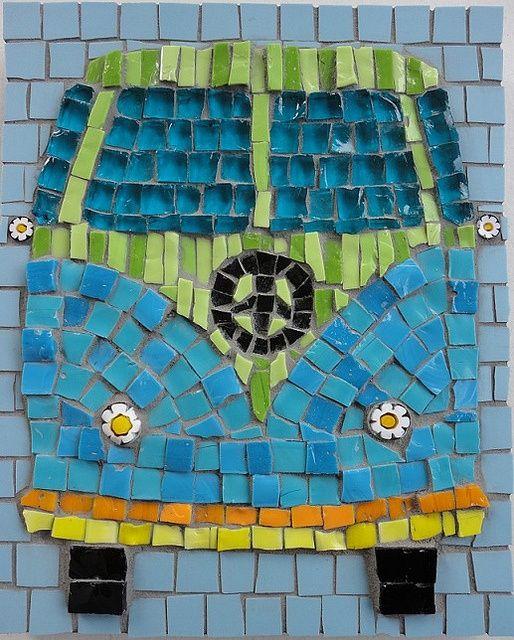 cute mosaic #design #mosaic
