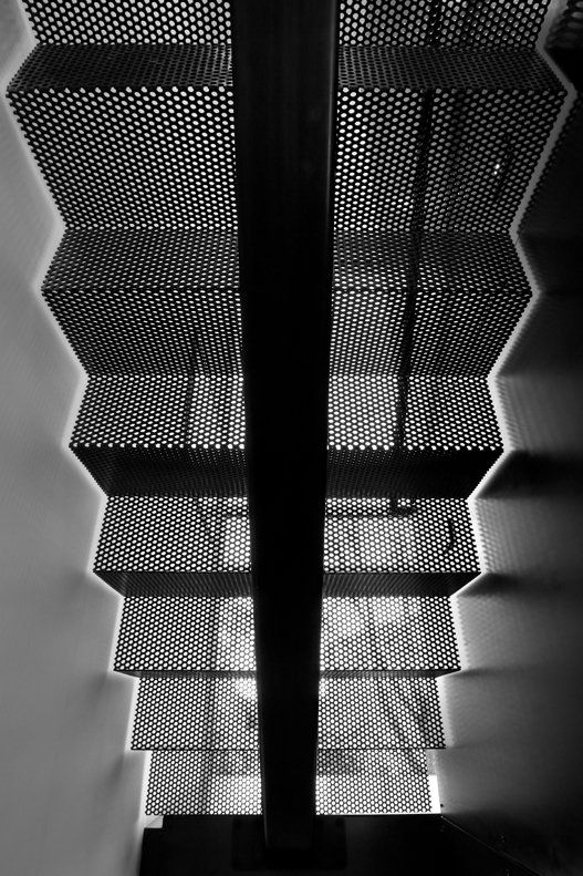 *architecture, modern interiors, stairs, black and white* - Treasure Island by Martin Architects PC