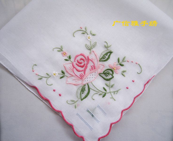 832 Best Embroidery - Handkerchiefs Images On Pinterest | Stitches Embroidery And Embroidery ...