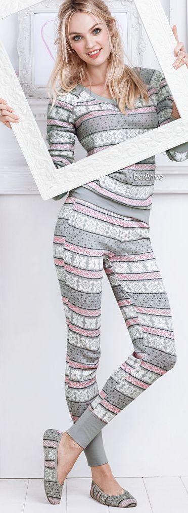 Victoria Secret Fireside Long Jane Pajama