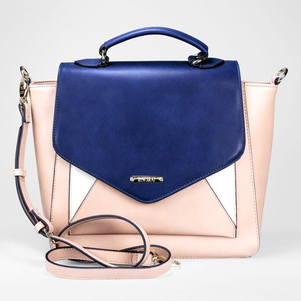 Contemporary and tasteful this Satchel handbag will complement a variety of looks. Zip fastening. It has 1 compartment with 1 zip pocket and 2 inner pockets. Includes shoulder strap.