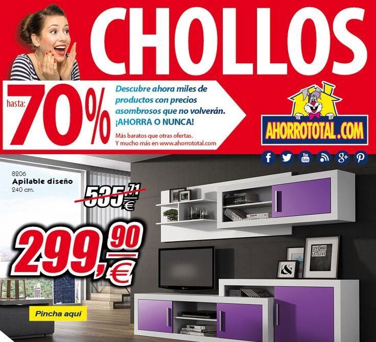 Vamos con Nuevos #Chollos en muebles para que paseis un #FelizJueves Entra ya en nuestra sección CHOLLOS http://www.ahorrototal.com/es/222-chollos  #muebles