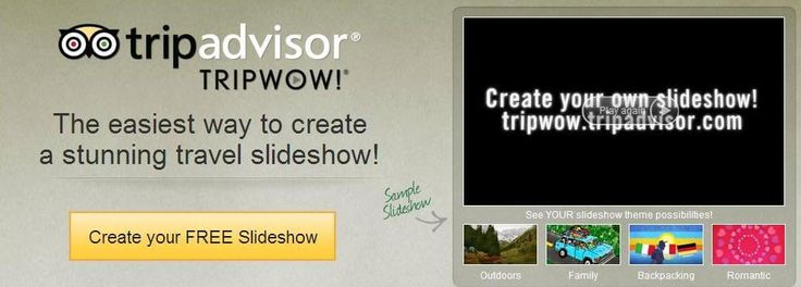 Create a stunning #travel #slideshow with music online free at tripwow.tripadvisor.com | Read more http://www.tech-wonders.com/2016/05/tripwow-slideshow-with-music-online-free.html
