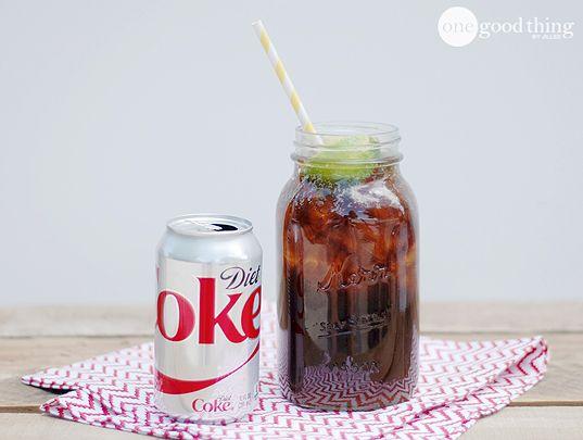 how to make diet coke icee