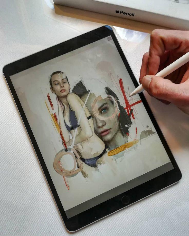 [ PREVIEW.] NEWARTWORK. - janofarkas.art  .  .  .  #artist #art #artwork #paintings #graphicdesig #janofarkasart #ipadpro #contemporaryart #modernart #instart  #sketch #pastel