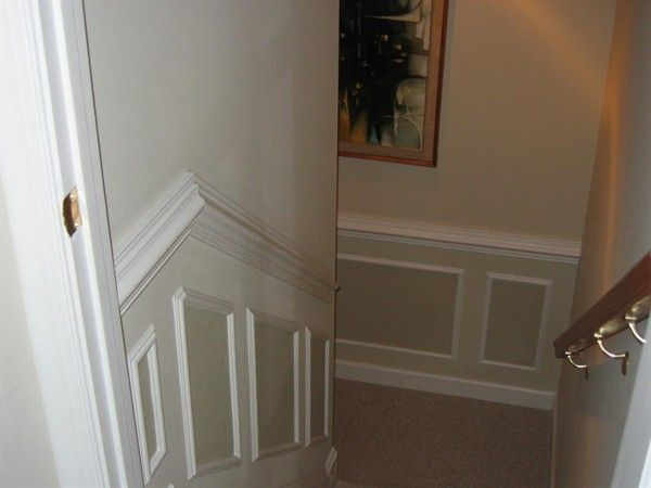 Lighting Basement Washroom Stairs: 20 Best Images About Wainscoting On Pinterest