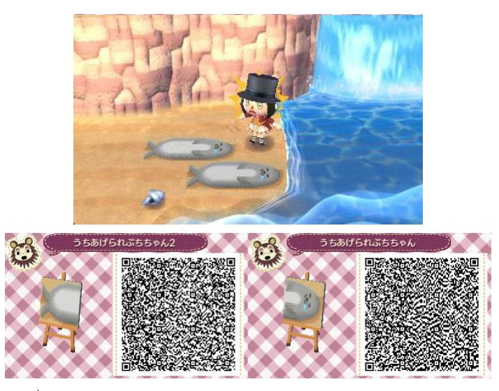 Awesome d animal crossing new leaf qr codes patterns for Floor qr codes new leaf