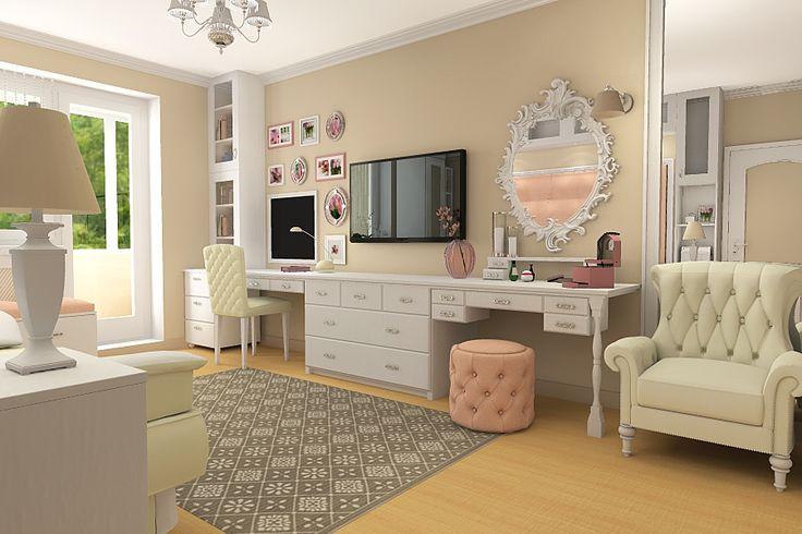 Комната 18м2 для юной леди | Drozel.com