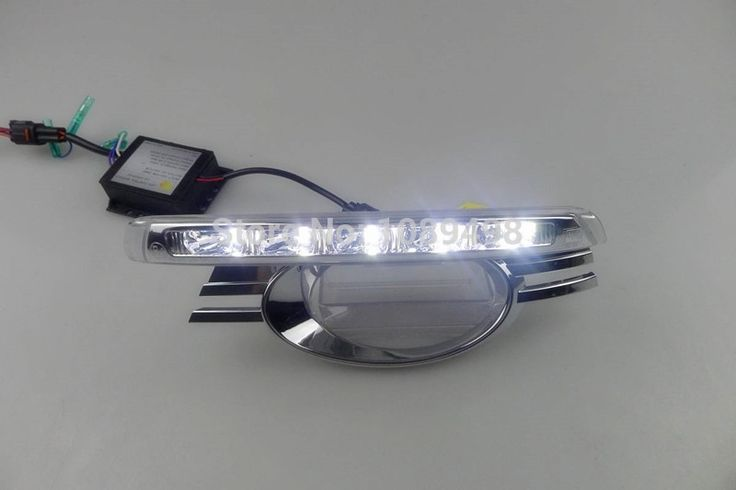 200.00$  Watch here - http://aliwln.worldwells.pw/go.php?t=32302953309 - 1 Set LED Car DRL daytime running lights with dimming function case for Mercedes Benz W204 C-class 2008-2010 200.00$