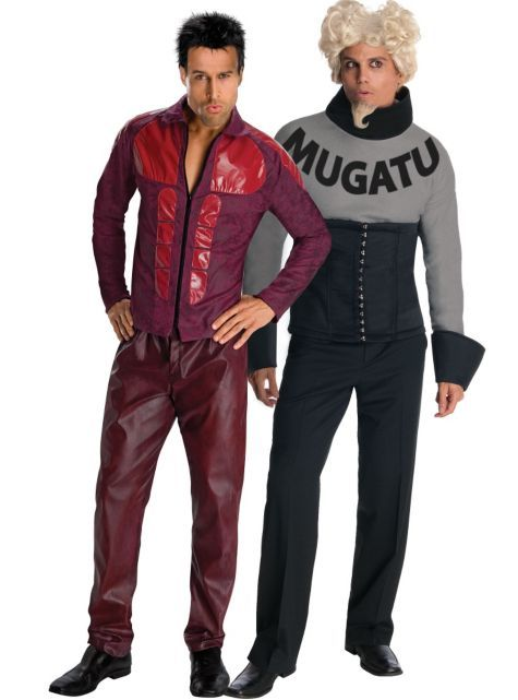 """It's like I'm taking Crazy Pills!"" Zoolander and Mugatu Couples Costumes - Party City"