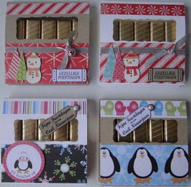 Leuke merci doosjes. Verschillende patronen van te vinden maar deze vind ik erg leuk. Ook erg leuk om cadeau te doen.