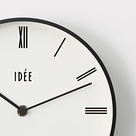 IDEE TIMING 掛け時計 Roman: インテリア雑貨デザイン家具 インテリア雑貨 - IDEE SHOP Online