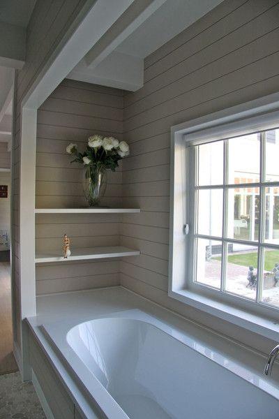 Shiplap wall panelling - Cottonwood Interiors