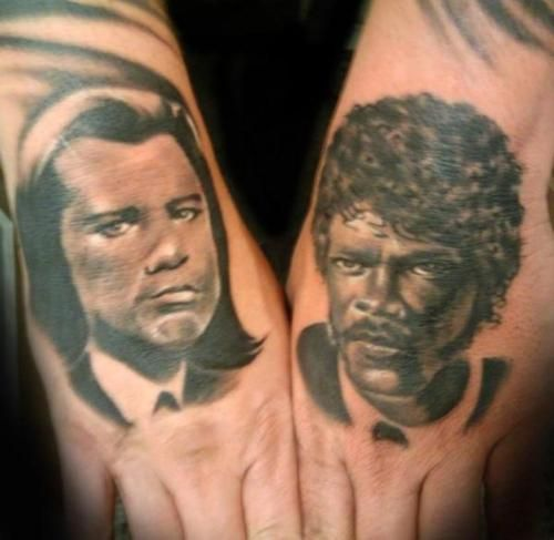 Pulp Fiction Tattoo Pictures And Tattoos And Body Art On Pinterest Pulp Fiction Tattoo Pulp Fiction Movie Tattoos