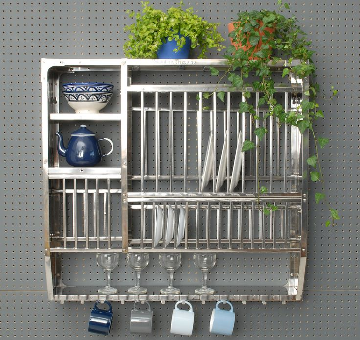 Stainless Steel Plate Rack-Large                                                                                                                                                     More