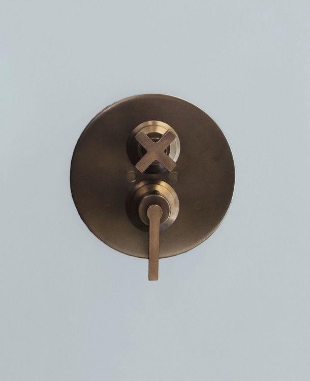 Alto 3 4 Concealed Thermostatic Shower Valve Urbanite Bronze