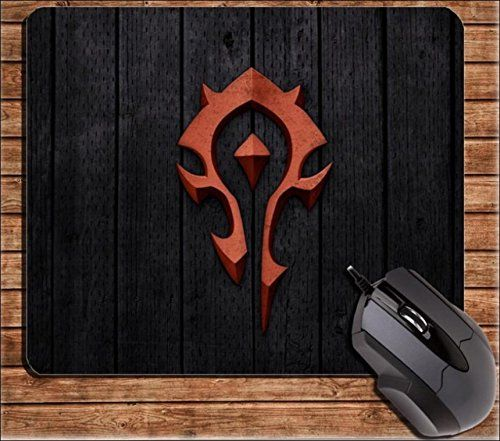 Speaking Life Cute Cartoon Mouse Pads for Computers Wireless Mouse Mat with World of Warcraft Tribe  @ niftywarehouse.com #NiftyWarehouse #WoW #WorldOfWarcraft #Warcraft #Gaming