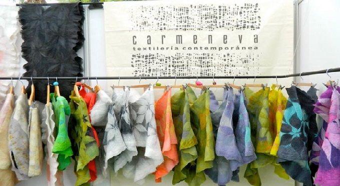 Carmen Eva is just one of the talented Chilean designers participating in MICSUR 2014. Photo by textilería contemporánea/ Facebook