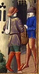 Костюмы горожан франция средние века