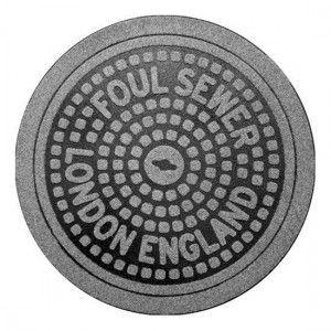 Felpudo Alcantarilla de Londres / London Manhole Cover Doormat · Tienda de Regalos originales UniversOriginal