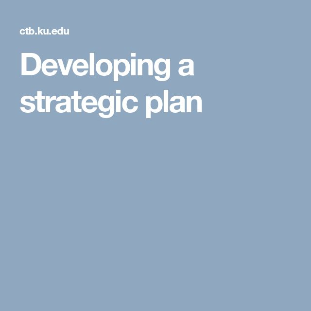 The  Best Strategic Planning Ideas On   Strategic