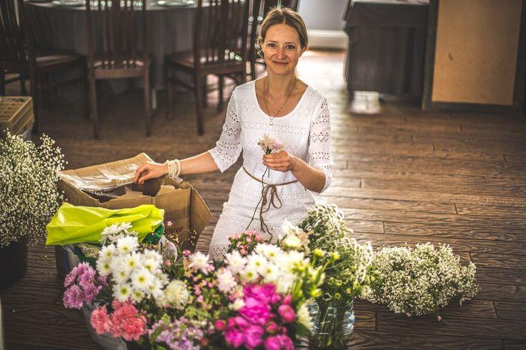 Róża wśród kwiatów :) #handmade #florist #flowers #decoration