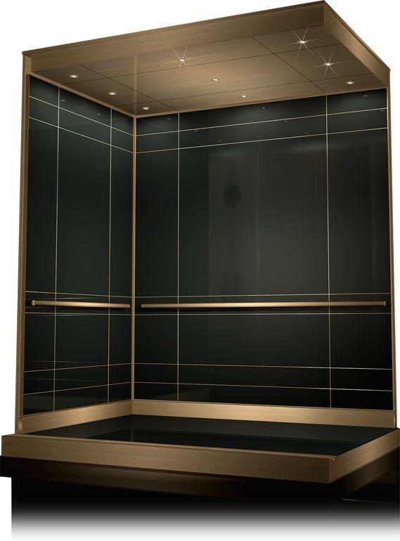 65 best elevator interior images on pinterest elevator for Modern elevator design