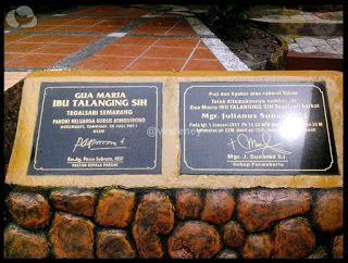 Wisata Religi Kristen Katholik Jogja: Gua Maria Talangingsih / Talangsih - Semarang, Jaw...