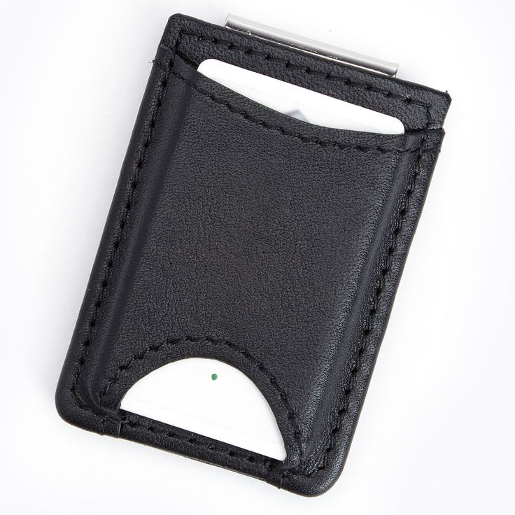 Royce Leather Genuine Leather Tracker for Finding Your Wallet with Money Clip Wallet - 815-BLACK-5