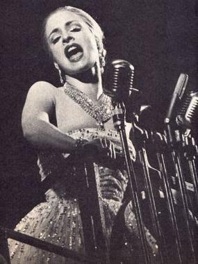 The beatiful Patti LuPone in Evita!
