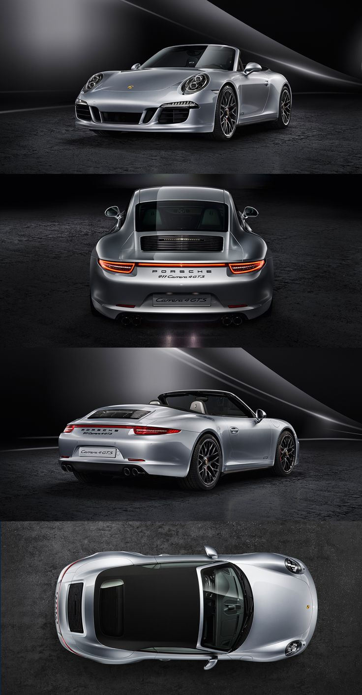 Porsche 911 Carrera 4 GTS: Just for the all-wheel drive models: the continuous taillight strip with state-of-the-art LED technology. For better illumination and an unmistakable design.
