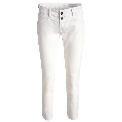 Combineer deze witte jeans van Espirt met een leuke oranje top en je bent er helemaal klaar voor. Shop hier vanaf: € 59,99