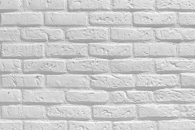 Panel decorativo imitación ladrillo. Panel blanco RAL 9016. Imitación Ladrillo refractario