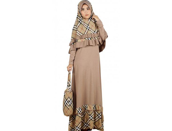 Burberry Printed Hijab fashion ideas (19)