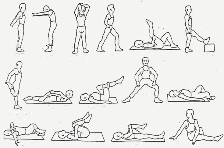 rekoefeningen en strekoefeningen