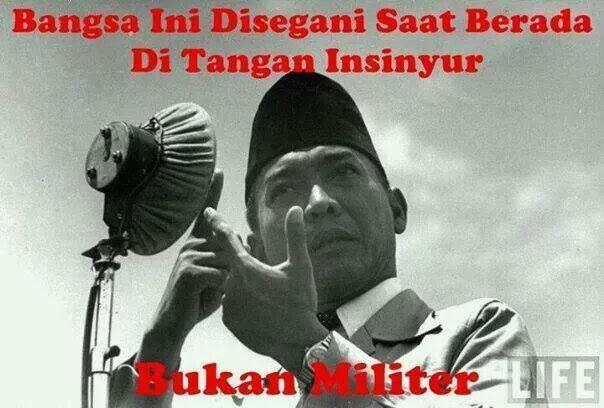 Hidup Soekarno...
