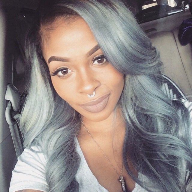 40 best grey weave hair images on pinterest braids texture im starting to be into natural makeup beautiful pmusecretfo Images