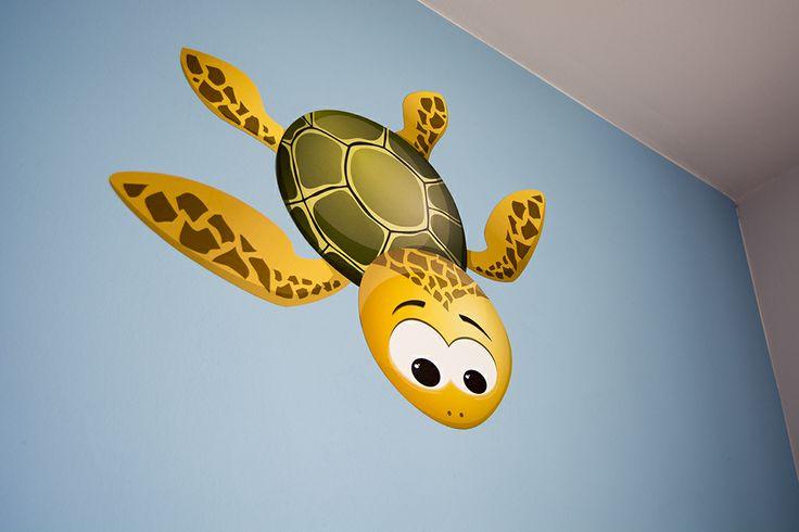 wall sticker turtle Kate