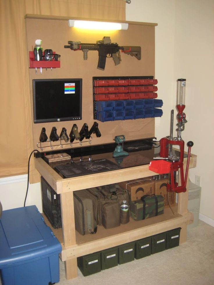 Reload Setup Thread Let 39 S See Your Reloading Bench Reloading Pinterest 39 Or And Simple