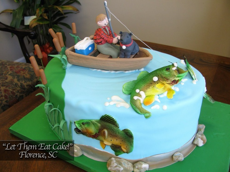 a fisherman's cake. I love it!
