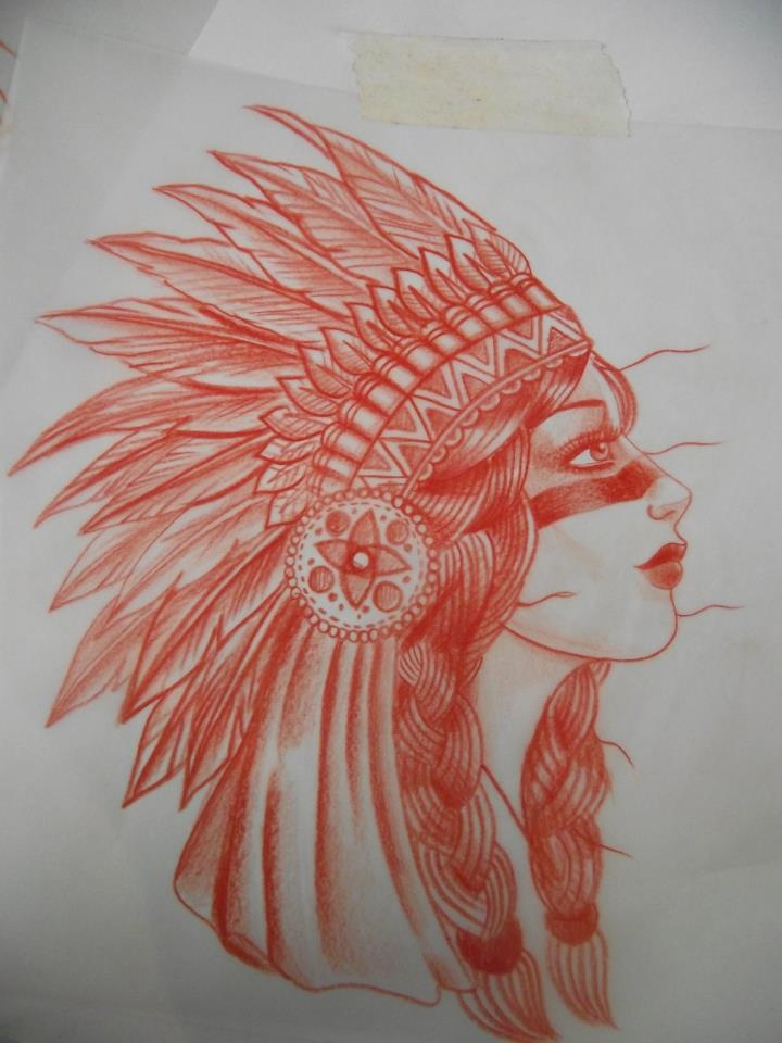 Native American gypsy head | Where my people at