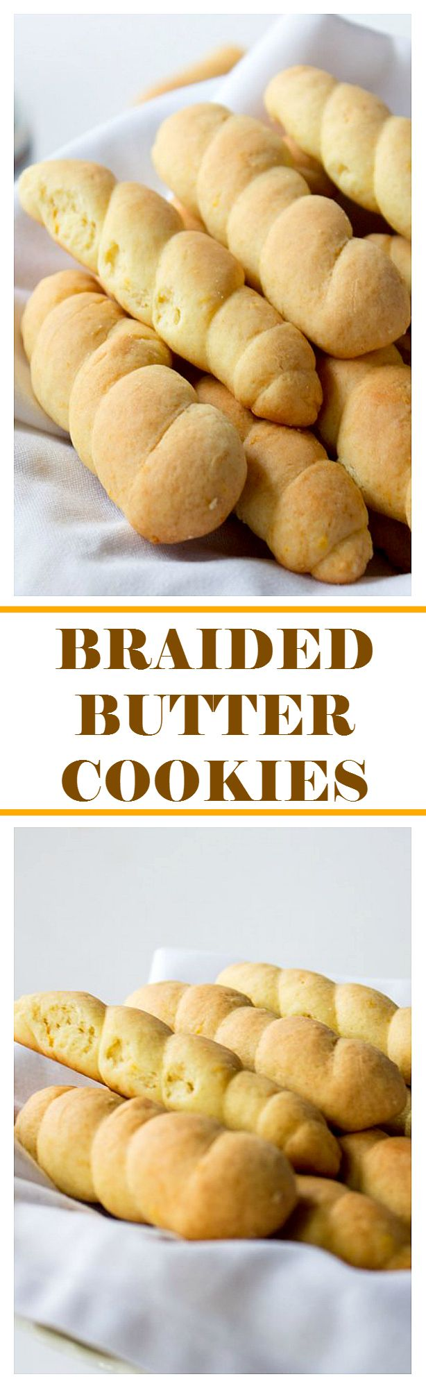 Braided Butter Cookies | www.diethood.com | Beautiful, traditional Easter Cookies that are soft to the bite, deliciously sweet, and will satisfy even the strongest cookie cravings. They go very well with coffee or tea!