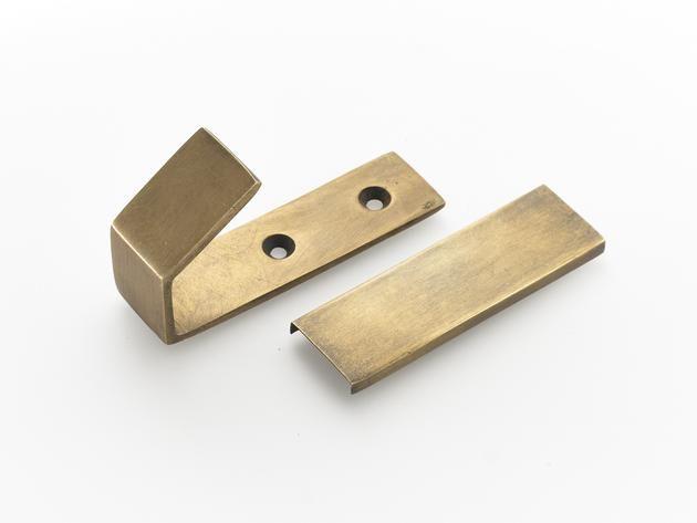 Industrial Style Brass Wall Hooks Screw Plate In 2020 Brass Wall Hook Modern Wall Hooks Door Hooks