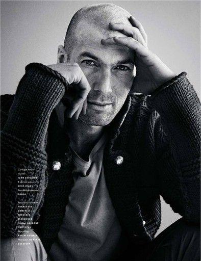 Zinedine Zidane Cedric Buchet Vogue