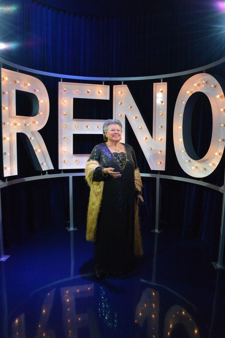Ginette RENO, Musée Grévin Montréal