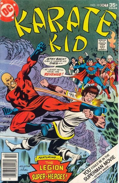 16 best Comic Covers (Karate Kid) images on Pinterest ...