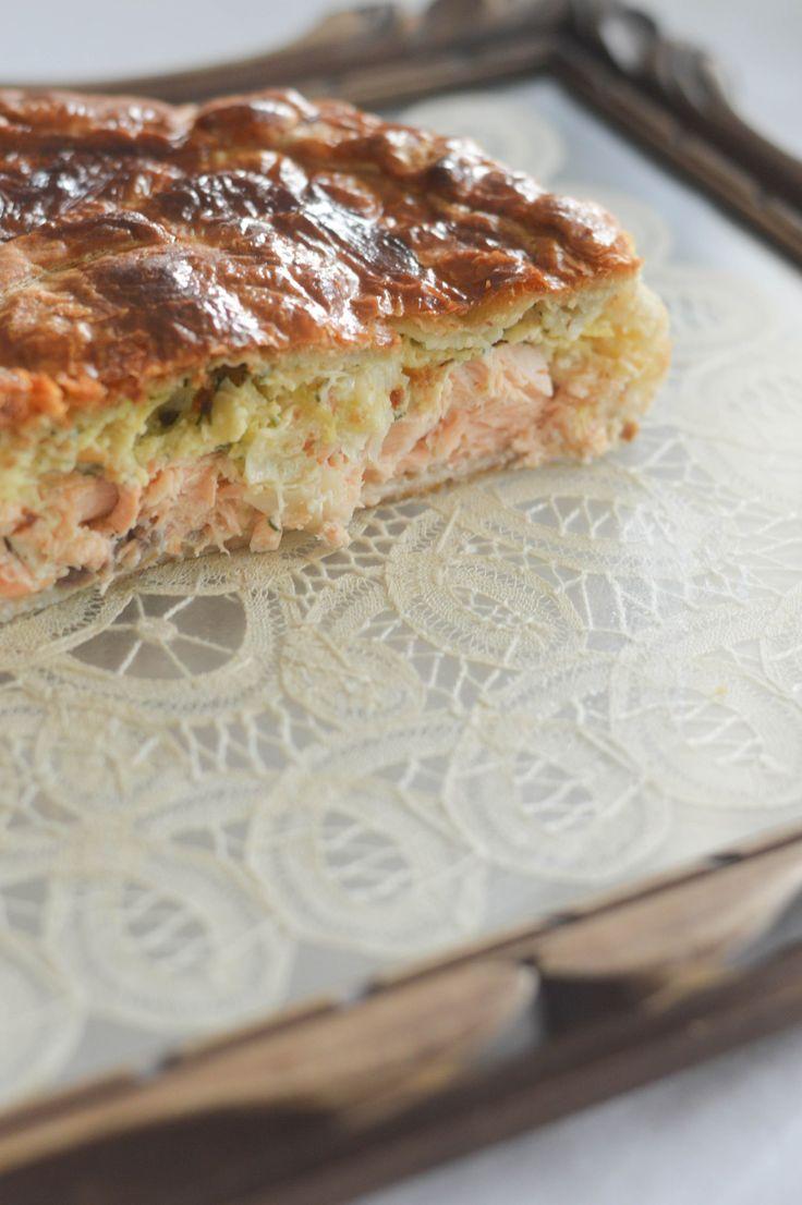 Tourte saumon, poireaux, aneth – Cookerei by Salomé